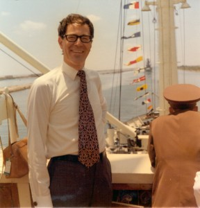 Rolf H Lindholm Suez 1975